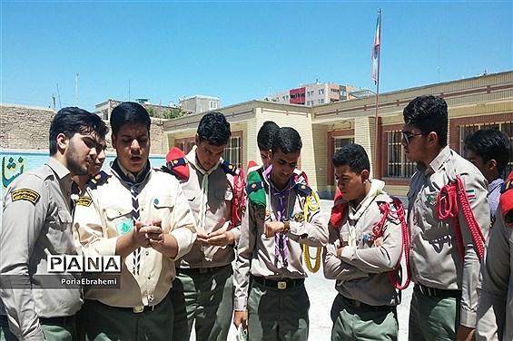 پایگاه اوقات فراغت اعضا تشکلات سازمان دانش آموزی شهرستان بیرجند