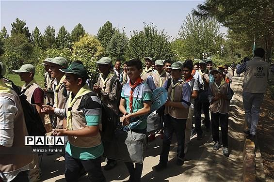 اولین روز از اردوی استانی پیشتازان
