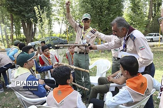 اولین روز اردوی استانی پیشتازان