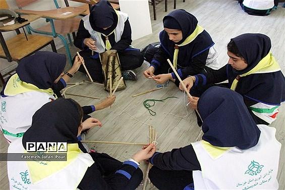 پیش اردوی ملی پیشتازان دختران خوزستان