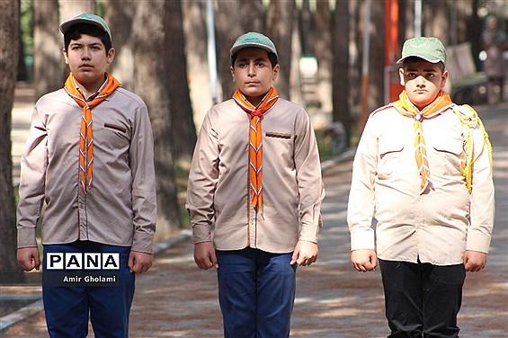 پیش اردوی ملی پیشتازان شهرستانهای استان تهران در اردوگاه شهید منتظری شهریار