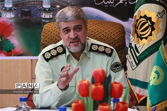 نشست خبری رئیس پلیس فرودگاههای آذربایجان شرقی