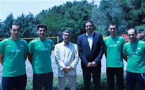 برای حضور در تور تک ستاره؛ تیم ملی والیبال ساحلی ایران راهی ترکیه شد