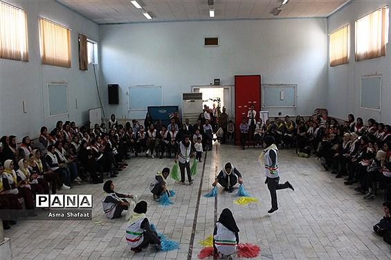 اردوی آموزشی توجیهی تیمهای منتخب پیشتازان دختر آذربایجان شرقی