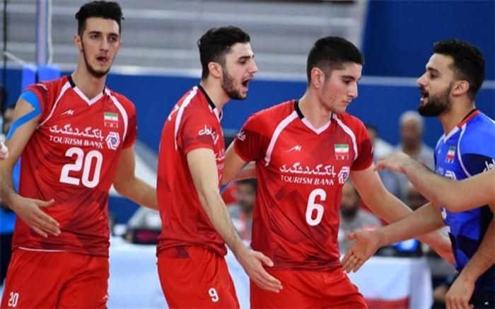 تیم ملی والیبال جوانان ایران 2018