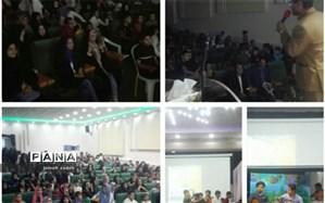 برگزاری جشن ولادت امام رضا(ع) درسالن همایش شهید شهابیان کاشمر