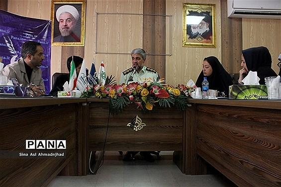 دیدار صمیمی خبرگزاری پانا با رئیس پلیس فرودگاه های تبریز
