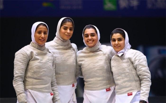 شمشیربازی زنان ایران