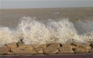 هشدار زرد سازمان هواشناسی  به متلاطم شدن دریای خزر