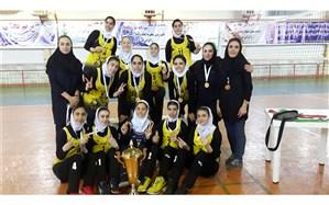 دختران تبریز قهرمان شدند