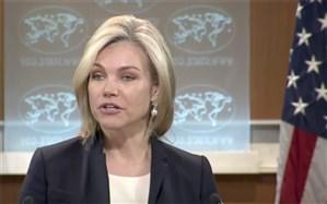 بلاتکلیفی سخنگوی وزارت خارجه آمریکا در تناقض گویی ترامپ و پمپئو