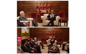 ظریف با نخست وزیر و وزیر امور خارجه سریلانکا دیدار کرد