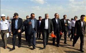 وزیر نیرو از روند احداث مدول دوم تصفیهخانه فاضلاب تبریز بازدید کرد