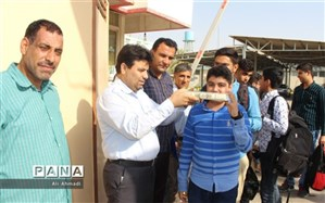 اعزام دانش آموزان پیشتاز پسر استان بوشهر به اردوی ملی شهید باهنر تهران