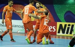 فوتسال جام باشگاههای آسیا؛ مس ایرانی در آسیا طلا شد