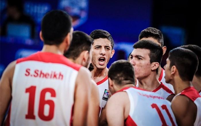 بسکتبال جوانان ایران 2018