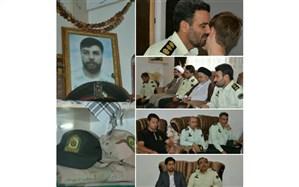 جانشین فرمانده انتظامی نیشابور: خانوادههای  شهدا  الگوی صبر و شکیبایی هستند