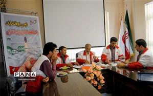 دومین دوره انتخابات باشگاه امدادگران و نجاتگران جمعیت هلال احمر شهرستان زیرکوه برگزار شد
