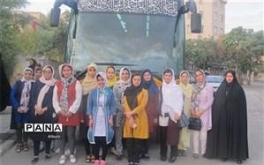 اردوی زیارتی - سیاحتی مشهد مقدس دانشآموزان دختر با نیازهای ویژه البرزی برگزار شد