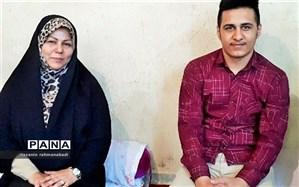 دانشآموز کنگاوری امیدآفرین استان کرمانشاه شد
