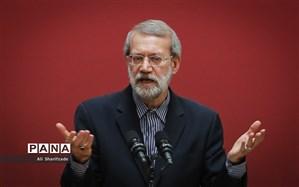 لاریجانی: خدمات زیادی بعد از انقلاب انجام شده است ولی در برهه فعلی تلاطمهایی داریم که باید مدیریت شود