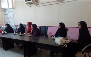 برگزاری جلسه کارگروه شورای دانش آموزی در شهرستان فیروزکوه