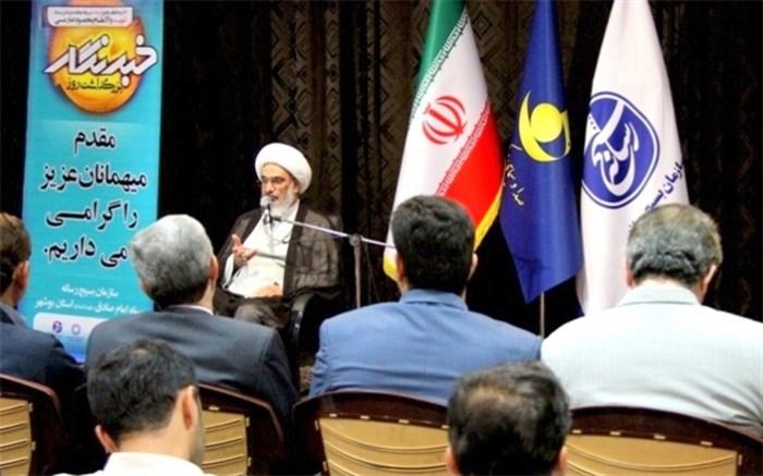 نماینده ولی فقیه در استان و امام جمعه بوشهر+بسیج رسانه