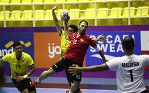 هندبال بازیهای آسیایی 2018؛ ایران با برد آسان شروع کرد