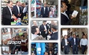 بازدید سرزده فرماندار ساوجبلاغ از بازار هشتگرد