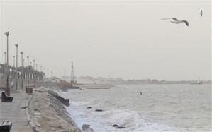 هشدار هواشناسی نسبت به افزایش ارتفاع موج تا سه متر