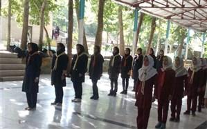 پیش اردوی ملی پیشتازان سازمان دانش آموزی شهرستان دلیجان برگزار شد