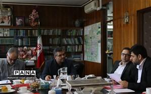 برگزاری دومین جلسه شورای برنامه ریزی سازمان دانش اموزی شهر تهران در سال 97