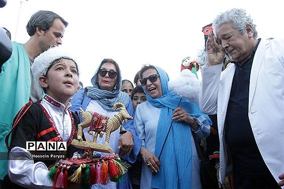 افتتاح هفدهمین جشنواره تئاتر عروسکی مبارک