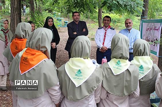 پیشاردوی پیشتازان دختر سازمان دانشآموزی مازندران