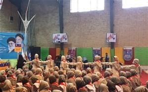 هشتمین اردوی ملی دانشآموزان پیشتاز دختر سازمان دانشآموزی آغاز شد
