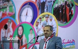 رئیس سازمان دانشآموزی: اردو بهترین مسیر آماده کردن دانشآموزان برای  زندگی لذتبخش است