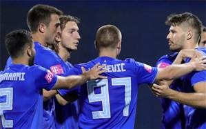 لیگ برتر کرواسی؛ دینامو با محرمی به قهرمانی نزدیک شد