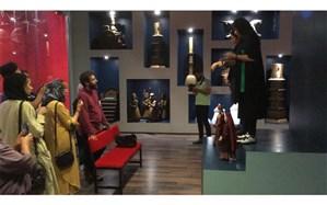 مهمانان جشنواره از موزه اپرای عروسکی گروه تئاتر «آران» بازدید کردند