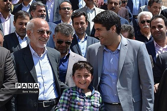 افتتاح مدرسه ۱۲کلاسه در ای اس پی شهریار