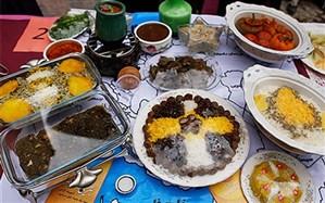 جشنواره غذای ایرانی در اردوگاه شهیدباهنر افتتاح شد