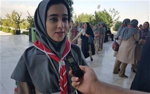 یاورمربی استان اصفهان: اردوی ملی دانشآموزان پیشتاز به اتحاد و همدلی در کشور کمک میکند