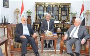 رئیسجمهوری عراق بر تحکیم روابط با ایران تاکید کرد