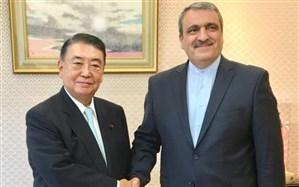 رئیس مجلس ژاپن خواستار توسعه روابط تهران - توکیو شد
