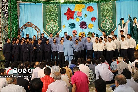 مراسم بزرگداشت عید غدیر خم در مسجد النّبی(ص) غرب تهران