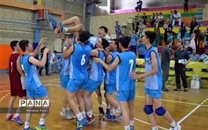 قهرمانی قزوین و خراسان رضوی در مسابقات والیبال و فوتسال دانشآموزان کشور در اردبیل