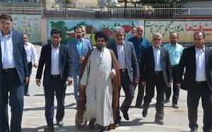 بازدید رئیس سازمان نوسازی از مدارس قدیمی منطقه پیربکران