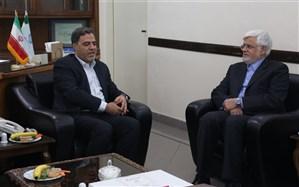نشست رئیس دانشگاه شهید رجایی با رئیس کمیسیون آموزش مجلس شورای اسلامی