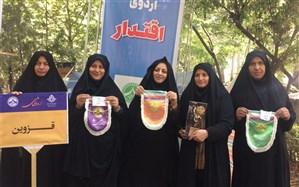 دختران پیشتازقزوینی  در هشتمین اردوی ملی درخشیدند