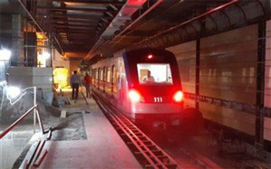 بوق قطار در عمیق ترین ایستگاه مترو تبریز به صدا در آمد