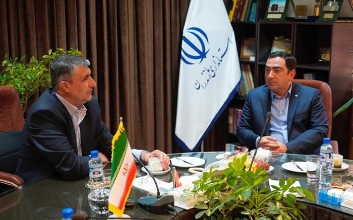 دیدار استاندار مازندران و مدیر بنادر و دریانوردی جمهوری آذربایجان